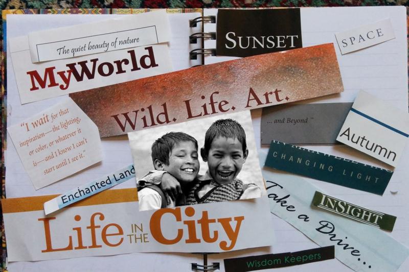 Vision Board composite image - pxhere.com
